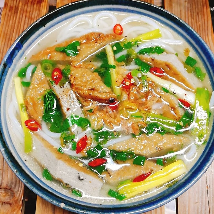 Bánh canh chả cá Đà Lạt