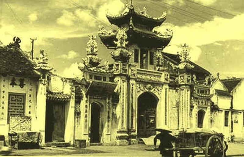 Chùa Bà Ngô là 1 trong những ngôi chùa bà nổi tiếng ở Hà Nội