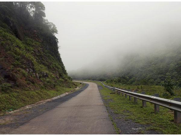 Đèo Sa Mù mờ sương