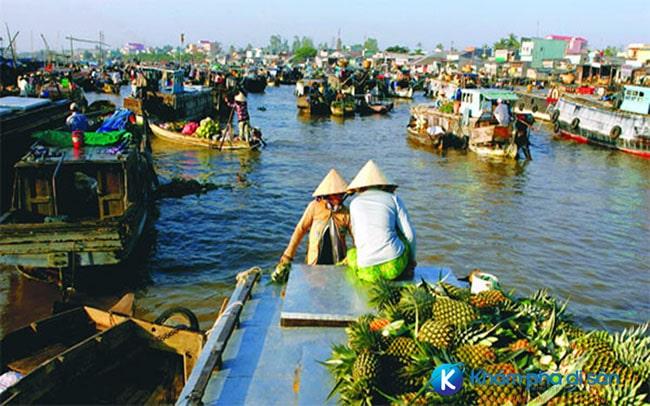 Chợ nổi Trà Ôn, Vĩnh Long