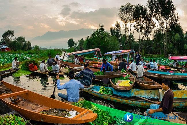 Chợ nổi Trà Ôn ở Vĩnh Long