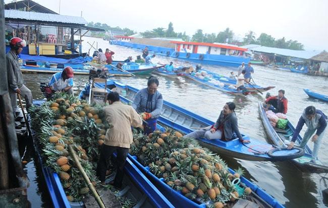 Chợ nổi Vĩnh Thuận, Kiên Giang