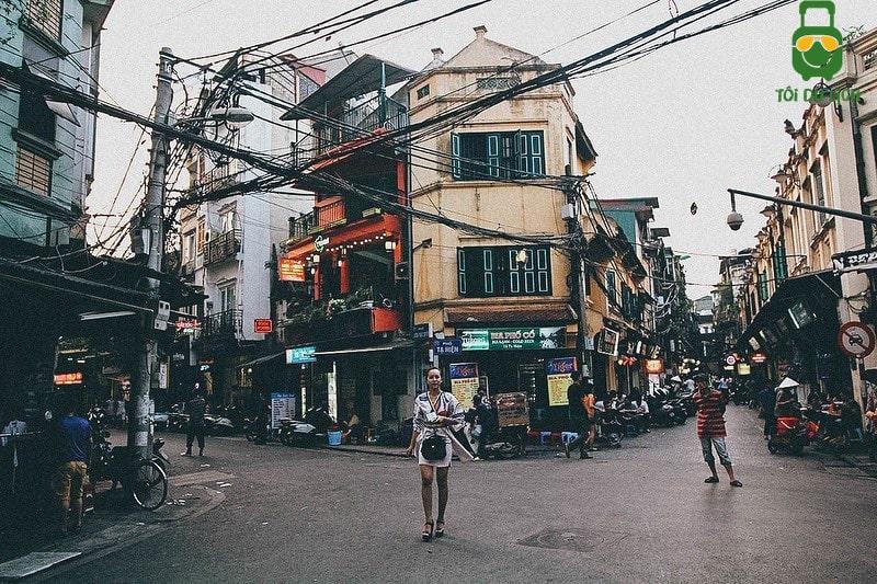 Đạp xe lượn lờ khu phố cổ Hà Nội