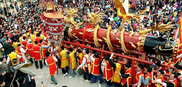 Các lễ hội dịp Tết Nguyên đán gần Hà Nộithu hút du khách nhất 1