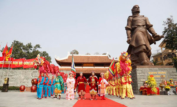 Hà Nội có những lễ hội nào vào dịp Tết Nguyên đán? 1