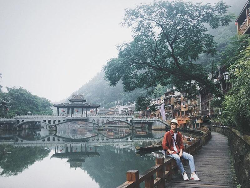 Phượng Hoàng cổ trấn mùa thu