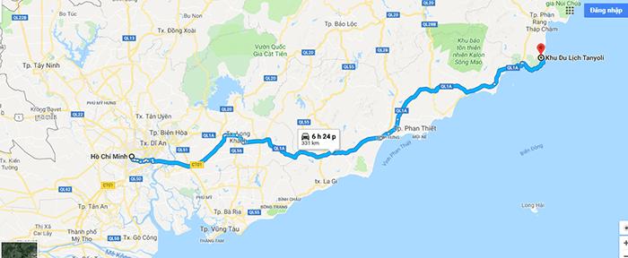 Cung đường Sài Gòn - Làng Mông cổ Tanyoli Ninh Thuận