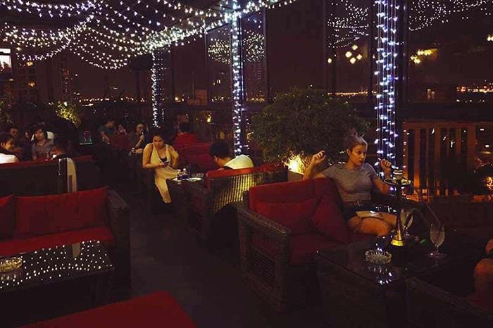 Không gian lãng mạn ở King Rooftop coffee