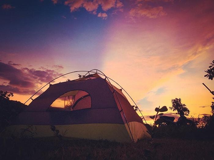 Những chiếc lều cho thuê để ngủ ngoài trời ở Tanyoli