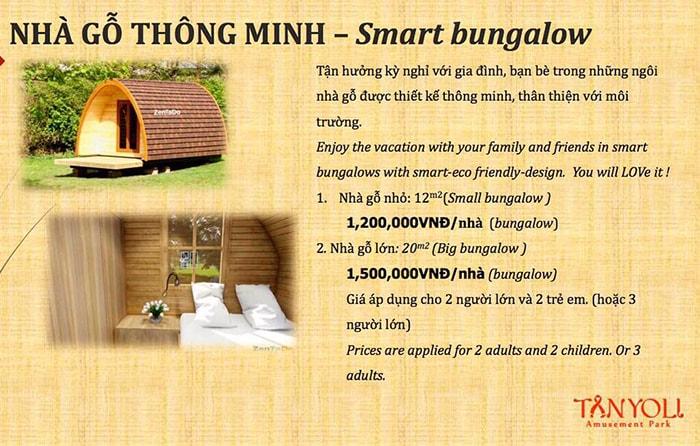Giá nhà gỗ Smart Bungalow ở Tanyoli