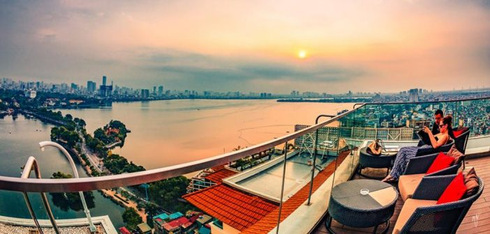 Những quán cafe view cao đẹp nhất Hà Nội và Sài Gòn