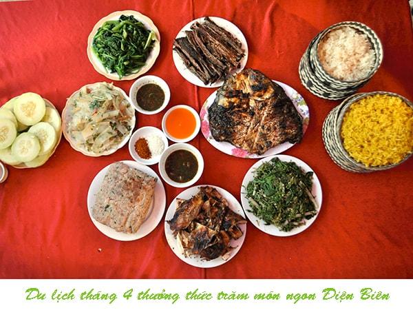 Du lịch tháng 4 thưởng thức trăm món ngon Điện Biên