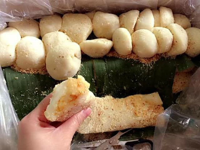 Bánh dày đặc sản Điện Biên