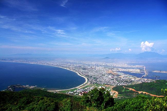 Ngắm Đà Nẵng từ bán đảo Sơn Trà