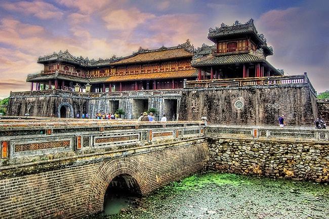 Cổng Ngọ Môn ở Đại Nội Huế