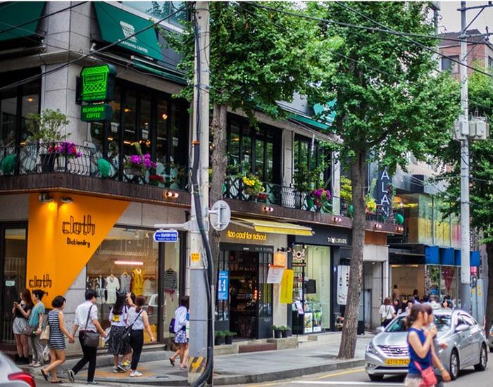 7 khu mua sắm ở Hàn Quốc