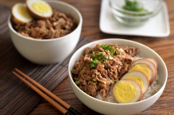 Cơm thịt lợn hầm - Lu Rou Fan