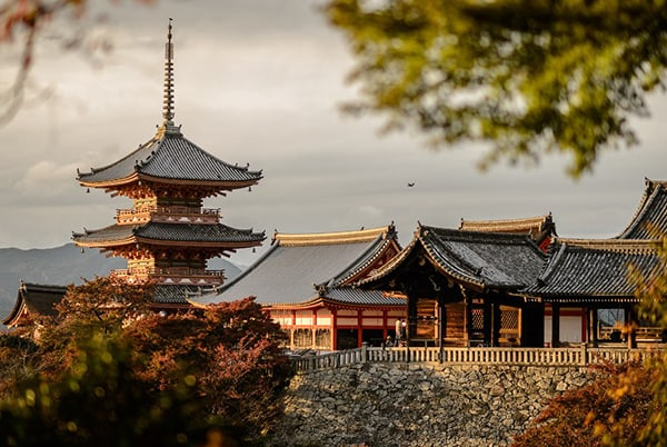 Cố đô Kyoto – Thiên đường của mùa thu trên xứ sở mặt trời mọc