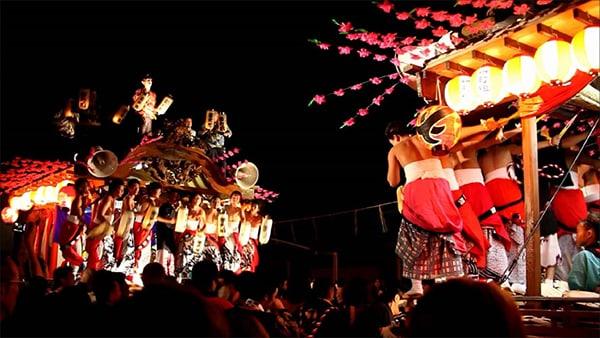 Lễ hội ở thị trấn Tanagura