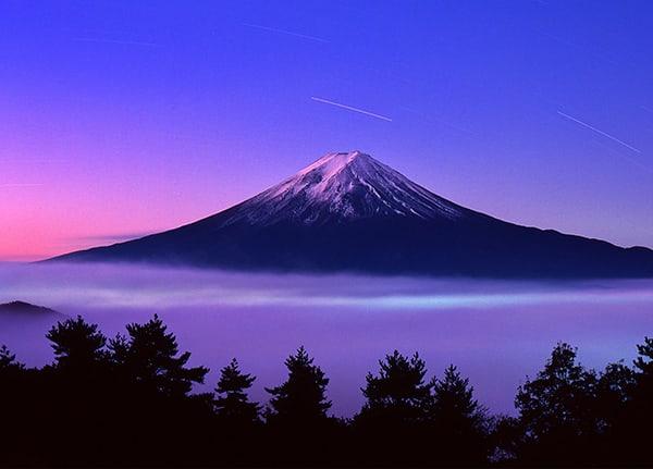 Núi Phú Sĩ hùng vĩ