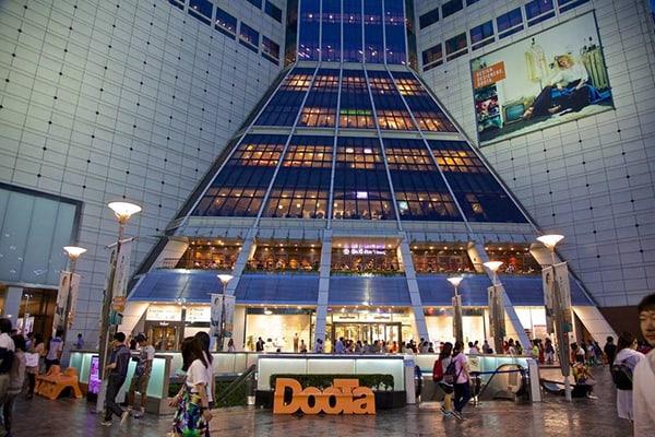 Khu mua sắm ở Hàn Quốc lớn nhất – Dongdaemun