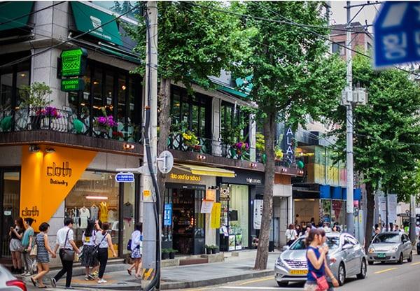 Garosugil – khu mua sắm ở Hàn Quốc thời thượng nhất