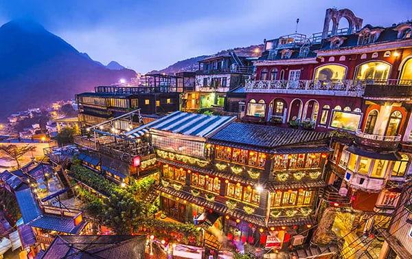 Làng Cửu Phần như trong truyền thuyết, Đài Loan