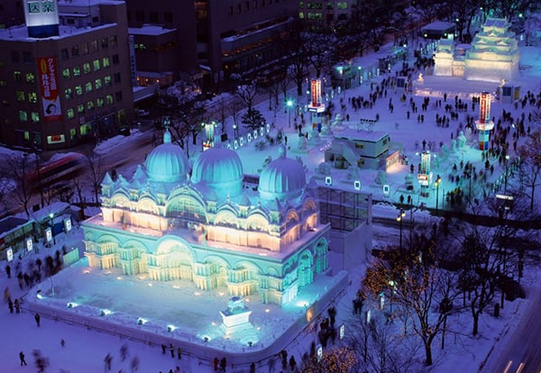 Lễ hội Tuyết tại Sapporo, Hokkaido, Nhật Bản