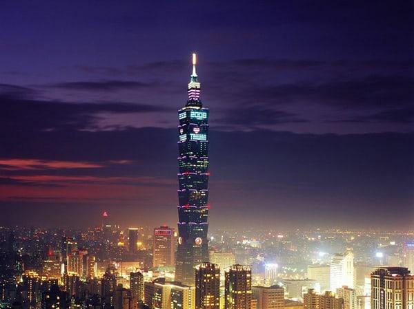 Tòa tháp 101, Đài Loan