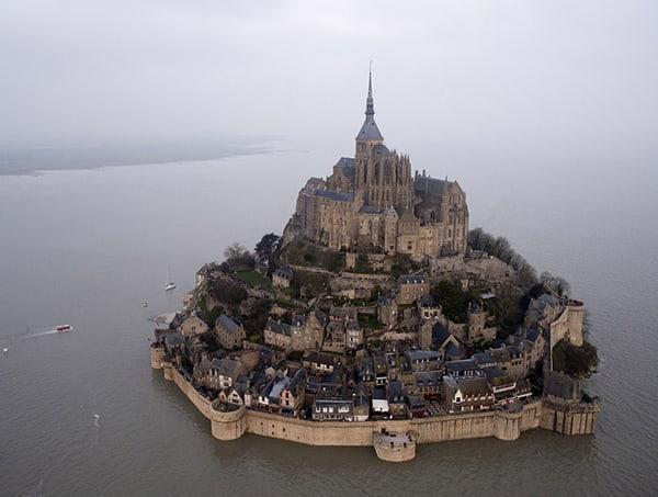 Đảo Mont Saint-Michel - Pháp