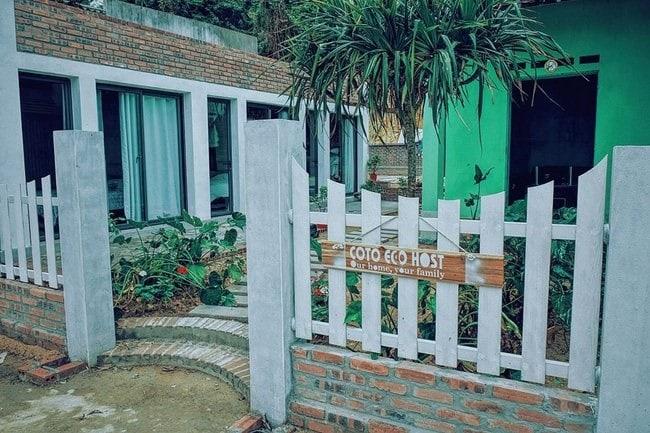 Homestay ở Cô Tô (Quảng Ninh)
