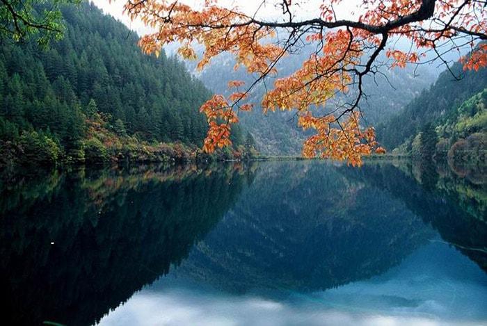 Công viên quốc gia Jiuzhaigou ở Trung Quốc