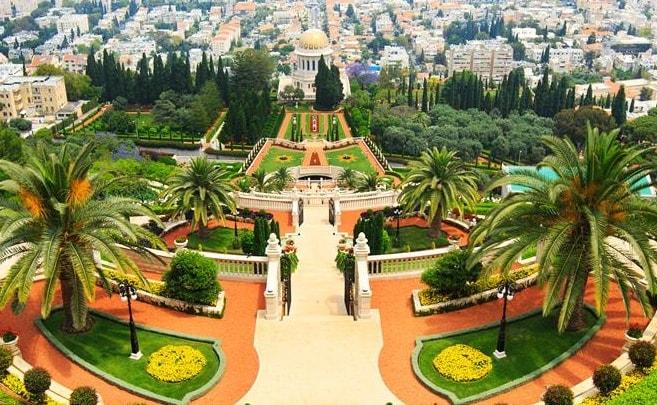 Khu điện thờ và vườn ở Haifa, Israel