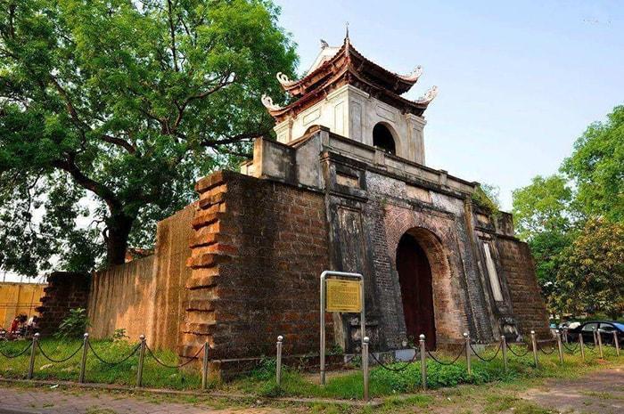 Di tích thành cổ Nghệ An ở thành phố Vinh