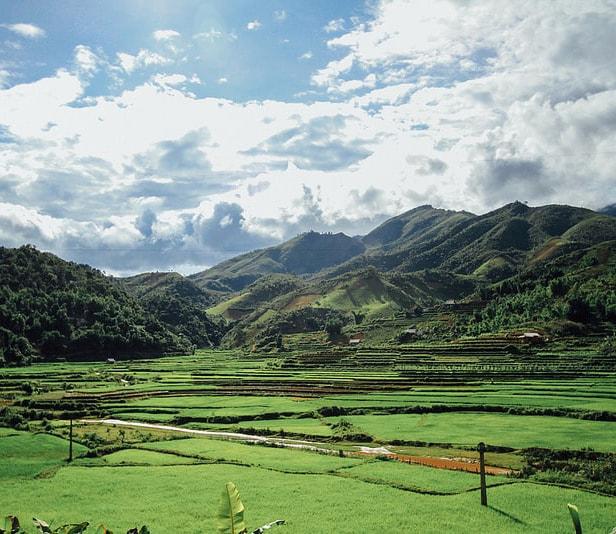 Một khung cảnh đẹp tại Lai Châu
