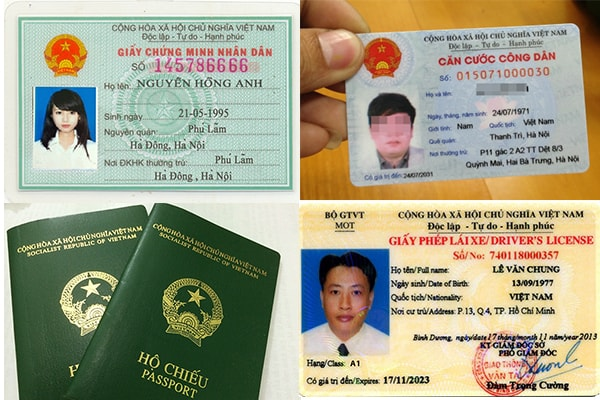 Với các chuyến bay nội địa thì bạn chỉ cần chứng minh thư nhân dân (căn cước công dân) hoặc hộ chiếu