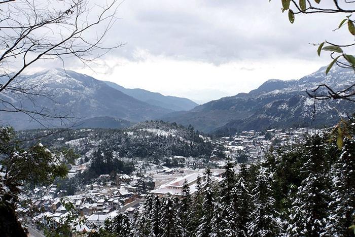 Ngắm tuyết rơi ở Sapa, Y Tý (Lào Cai)