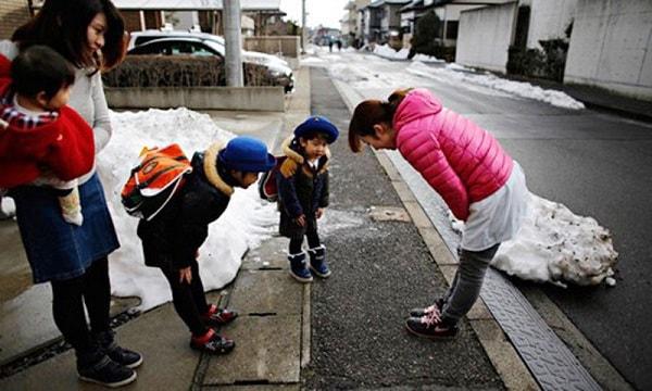 Trẻ con Nhật luôn được tạo nề nếp ngay từ nhỏ