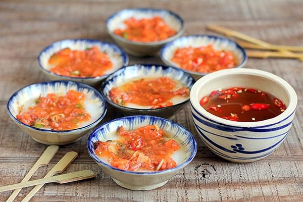 Bánh bèo chén là món ăn lạ và khá ngon ở Đà Lạt