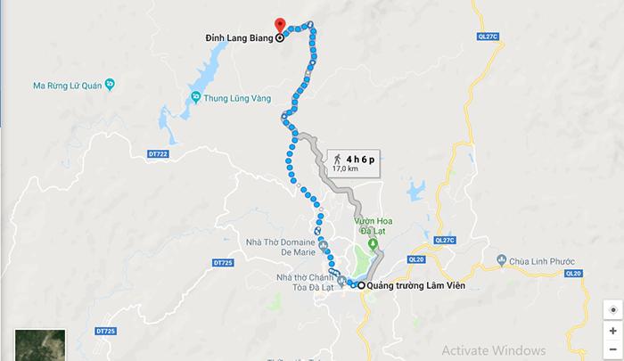 Cung đường đến đỉnh Lang Biang