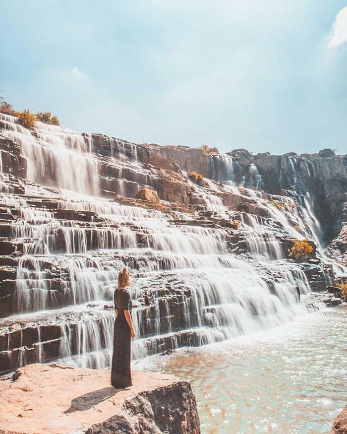Vẻ đẹp hùng vĩ của thác Pongour