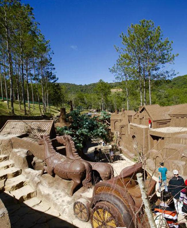 Đường hầm đất sét Đà Lạt