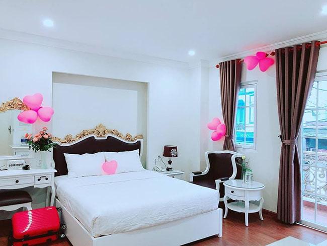 Một phòng khách sạn ở Đà Lạt