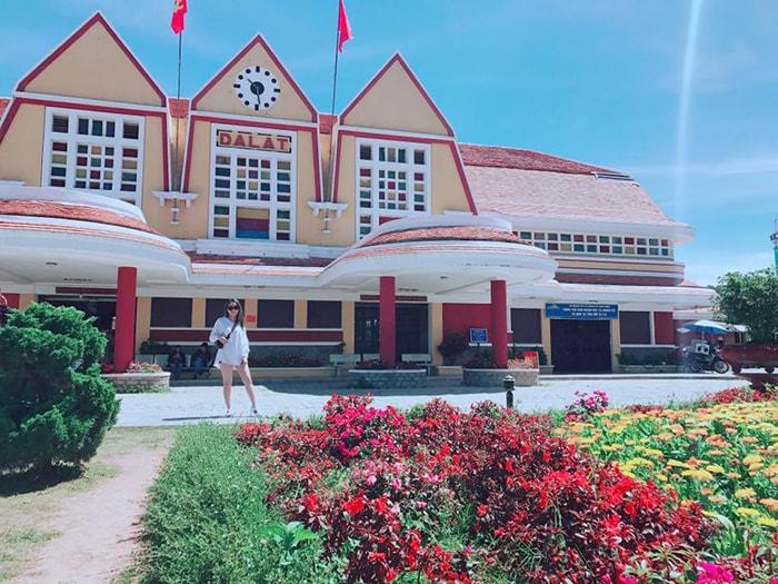 Nhà ga cổ ở Đà Lạt