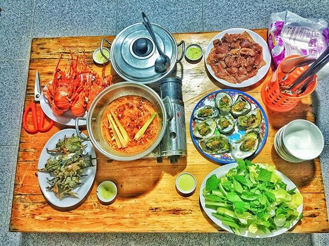 Những món ăn đặc sản trên đảo Bình Hưng