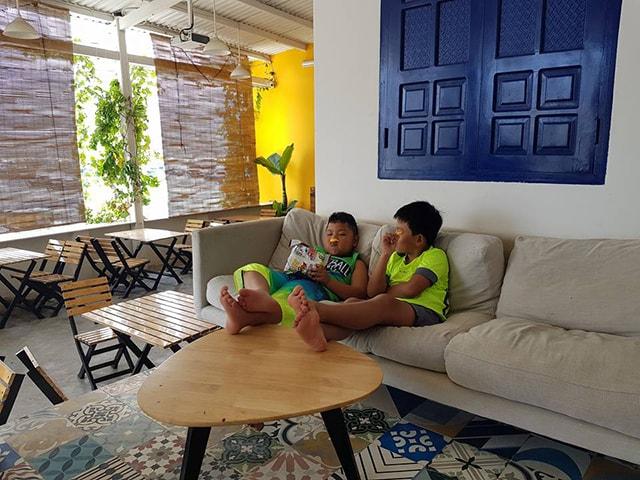 Một homestay khác ở đảo Bình Hưng