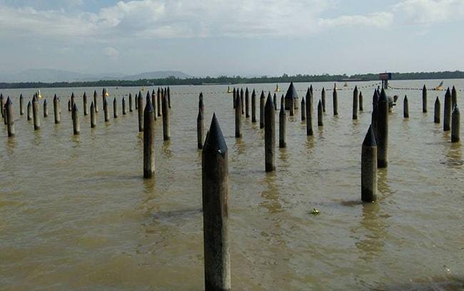 Bãi cọc ngầm trên sông Bạch Đằng
