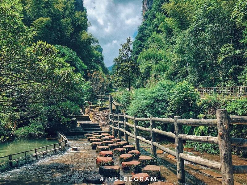 Một góc của Hồ Bảo Phong
