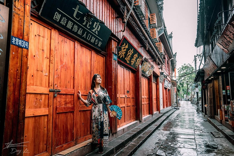 Khu phố cổ Phượng Hoàng Cổ Trấn