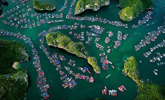 Vịnh Lan Hạ tuyệt đẹp trên đảo Cát Bà